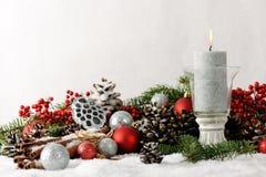 ζωή Χριστουγέννων ακόμα Στοκ Φωτογραφίες