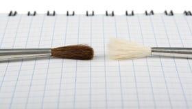 ζωγράφοι δύο Στοκ εικόνες με δικαίωμα ελεύθερης χρήσης