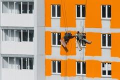 Ζωγράφοι σπιτιών Στοκ Φωτογραφίες