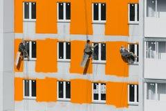 Ζωγράφοι σπιτιών Στοκ Εικόνες