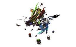 Ζωγράφος φαντασίας Στοκ εικόνα με δικαίωμα ελεύθερης χρήσης