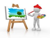 ζωγράφος Στοκ Εικόνες