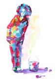 ζωγράφος ελεύθερη απεικόνιση δικαιώματος