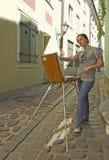 ζωγράφος Στοκ Φωτογραφίες
