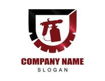 Ζωγράφος logotype Στοκ φωτογραφία με δικαίωμα ελεύθερης χρήσης