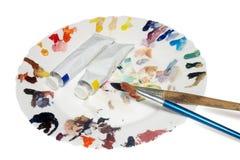 ζωγράφος s γευμάτων στοκ φωτογραφία με δικαίωμα ελεύθερης χρήσης
