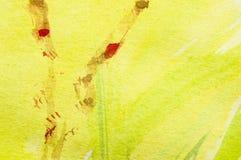 Ζωγραφική άνοιξης απεικόνιση αποθεμάτων