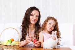 ζωγραφική αυγών Στοκ εικόνες με δικαίωμα ελεύθερης χρήσης