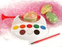 ζωγραφική αυγών Στοκ Εικόνες