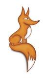 Ζωγραφική αλεπούδων πιπεροριζών Στοκ Εικόνες
