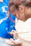 ζωγραφική διακοσμήσεων Στοκ φωτογραφία με δικαίωμα ελεύθερης χρήσης