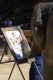 ζωγραφική ελεφάντων Στοκ εικόνες με δικαίωμα ελεύθερης χρήσης