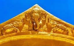 Ζωγραφική ελεφάντων Στοκ φωτογραφίες με δικαίωμα ελεύθερης χρήσης