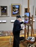 ζωγραφική ζωγράφων Στοκ φωτογραφία με δικαίωμα ελεύθερης χρήσης