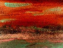 ζωγραφική καμβά Στοκ Φωτογραφίες