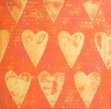 ζωγραφική καρδιών ελεύθερη απεικόνιση δικαιώματος