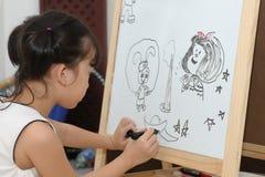 ζωγραφική κατσικιών στοκ εικόνα με δικαίωμα ελεύθερης χρήσης