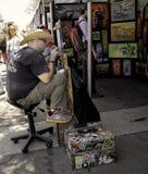 Ζωγραφική καλλιτεχνών, ArtWalk, Σαν Ντιέγκο Στοκ Εικόνα
