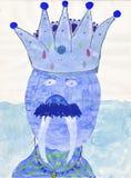 Ζωγραφική παιδιών ελεύθερη απεικόνιση δικαιώματος
