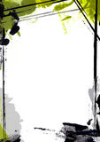 ζωγραφική σελίδων συνόρων Στοκ Εικόνες