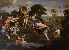 Ζωγραφική σε Galleria Borghese Ρώμη Στοκ φωτογραφία με δικαίωμα ελεύθερης χρήσης