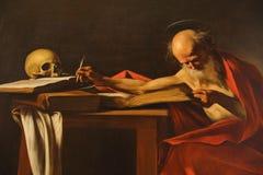 Ζωγραφική σε Galleria Borghese Ρώμη Στοκ Εικόνα