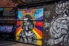 Ζωγραφική στην οδό Στοκ Φωτογραφίες