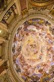 Ζωγραφική στον καθεδρικό ναό - Βαλέντσια Ισπανία Στοκ Εικόνες