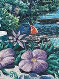 Ζωγραφική στον τοίχο Στοκ Εικόνες