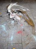 Ζωγραφική στο έδαφος Στοκ Εικόνες