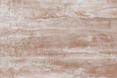 Ζωγραφική, σχεδιασμός Αφηρημένο σχέδιο χρωμάτων ανοικτό καφέ με τους λεκέδες Μαλακό καφετί υπόβαθρο του καμβά Απεικόνιση με τους  στοκ εικόνες