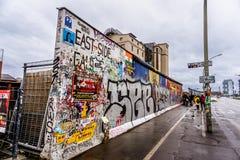 Ζωγραφική τειχών του Βερολίνου στοκ εικόνες