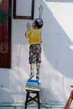 Ζωγραφική τοίχων Στοκ φωτογραφία με δικαίωμα ελεύθερης χρήσης