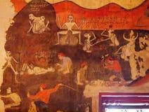 Ζωγραφική τοίχων στοκ φωτογραφία
