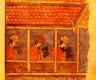 Ζωγραφική τοίχων στοκ εικόνες