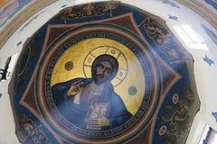 Ζωγραφική του Ιησού Pantocratoros Στοκ Φωτογραφίες