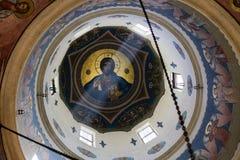 Ζωγραφική του Ιησού Pantocratoros Στοκ φωτογραφία με δικαίωμα ελεύθερης χρήσης