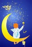 Ζωγραφική του ουρανού Στοκ εικόνα με δικαίωμα ελεύθερης χρήσης