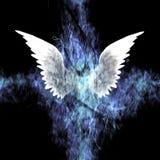 Ζωγραφική φτερών διανυσματική απεικόνιση