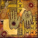 ζωγραφική χεριών ελεύθερη απεικόνιση δικαιώματος