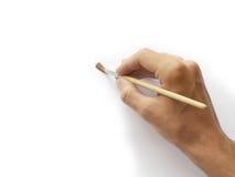ζωγραφική χεριών Στοκ εικόνες με δικαίωμα ελεύθερης χρήσης