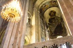 ζωγραφική Χριστού Ιησούς &e Στοκ φωτογραφία με δικαίωμα ελεύθερης χρήσης