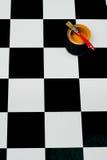 ζωγραφική χρωμάτων βουρτ&sigm Στοκ εικόνες με δικαίωμα ελεύθερης χρήσης