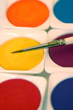 ζωγραφική χρωμάτων Στοκ Εικόνα
