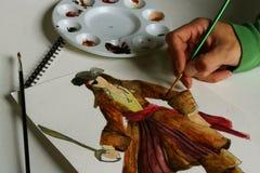 ζωγραφική Στοκ Εικόνα