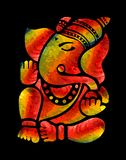 Ζωγραφική Ganesha Στοκ Φωτογραφία