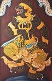 Ζωγραφική Hanuman Στοκ εικόνα με δικαίωμα ελεύθερης χρήσης