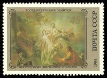 Ζωγραφική Pygmalion και Galatea Στοκ Εικόνες