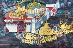 Ζωγραφική Wat Po Στοκ Εικόνες