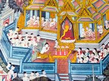 Ζωγραφική Wat Po Στοκ Φωτογραφίες